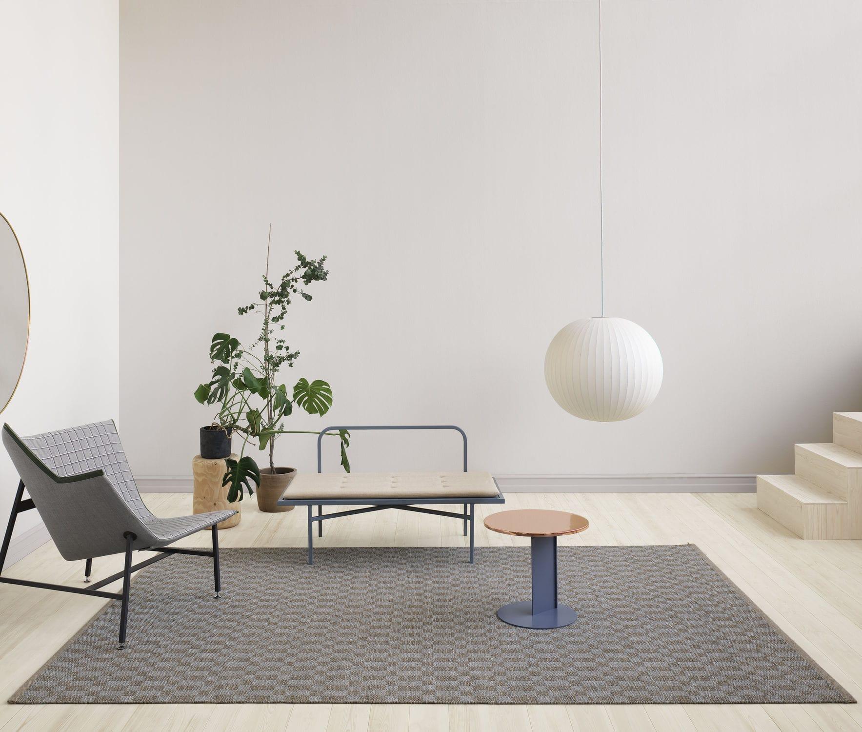 Kasthall Goose Eye Icon contemporary rug / geometric / wool / rectangular - cubrick