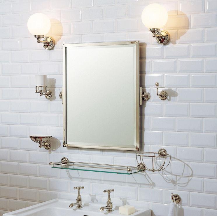 Wall Mounted Bathroom Mirror Tilting Clic Rectangular