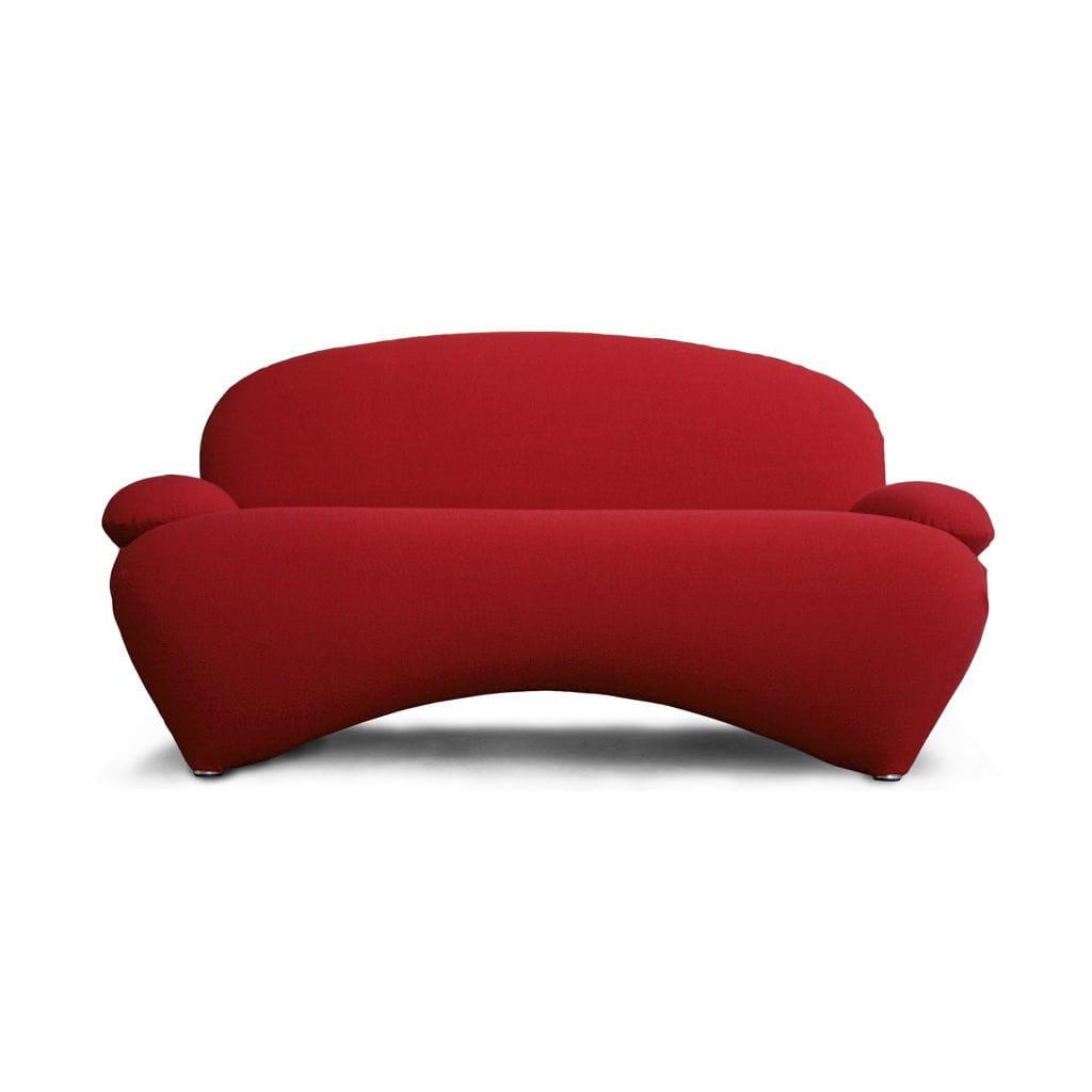 Contemporary sofa / fabric / aluminum / red - SHA by Bartoli ...