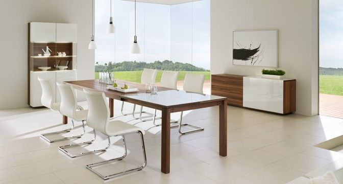 Contemporary Chair Magnum Team 7 Leather Steel Base Cantilever