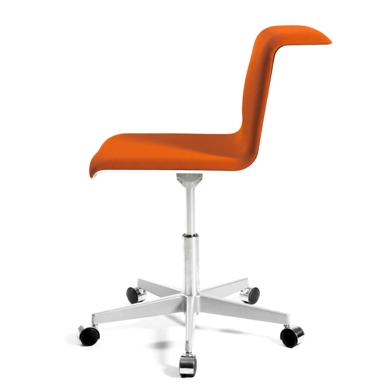 Awesome Contemporary Office Chair On Casters Star Base Swivel Pabps2019 Chair Design Images Pabps2019Com
