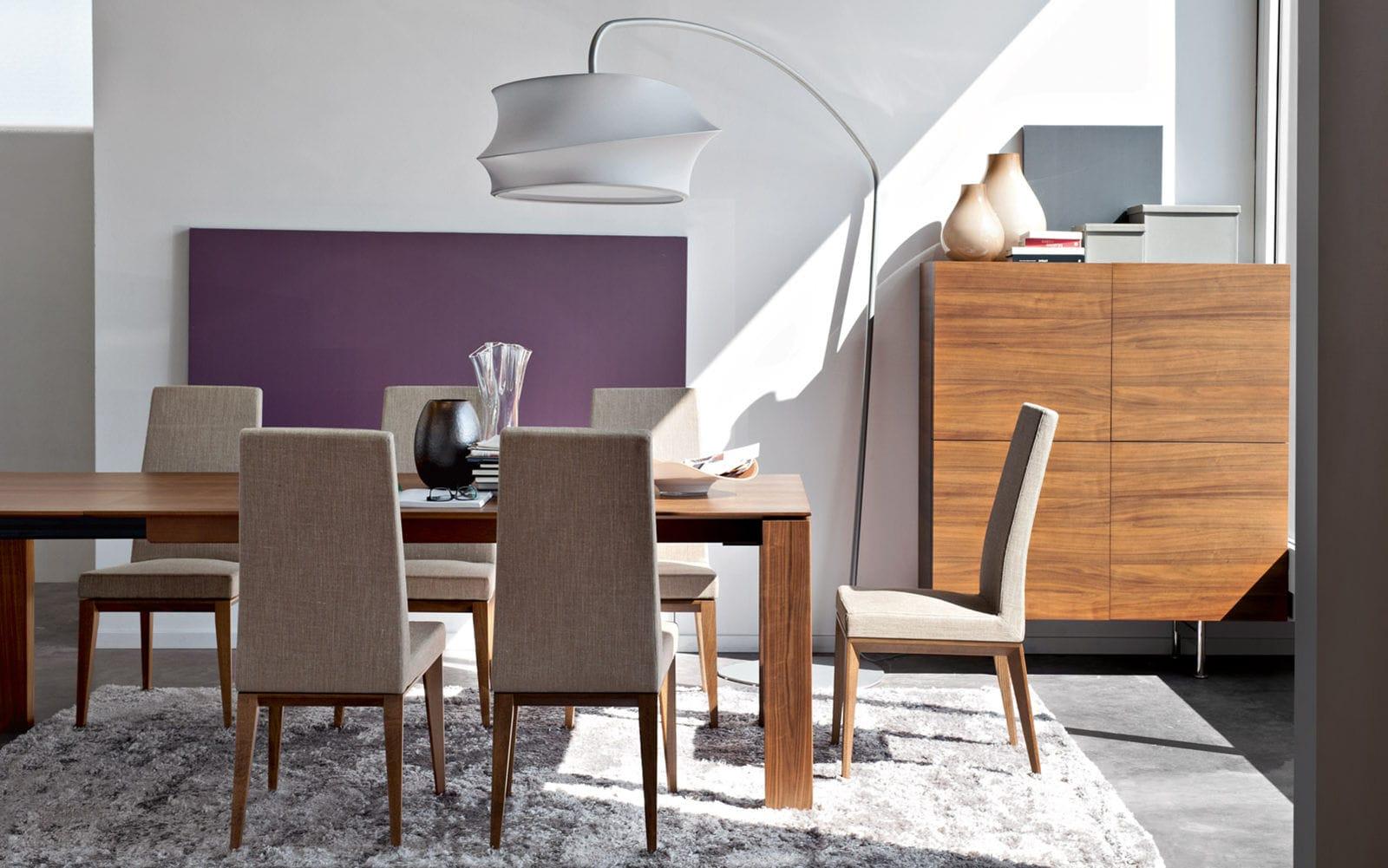 Floor Standing Lamp Contemporary Fabric Steel