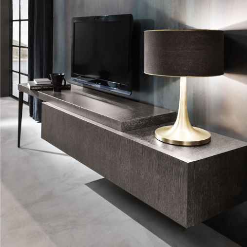 Mobili Porta Tv Design.Contemporary Tv Cabinet Oak City Cantori