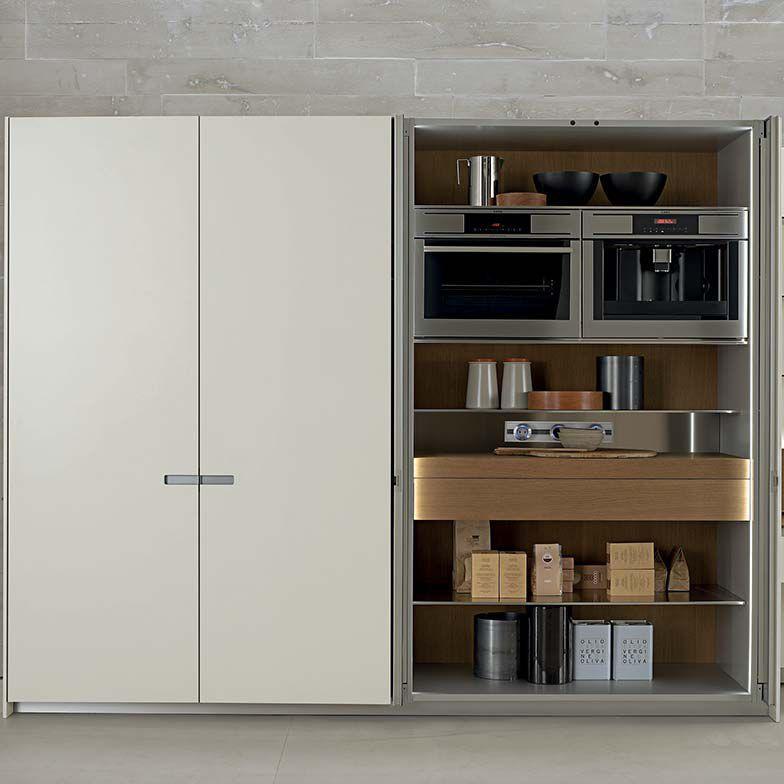 Contemporary Storage Cabinet For Kitchen Wooden