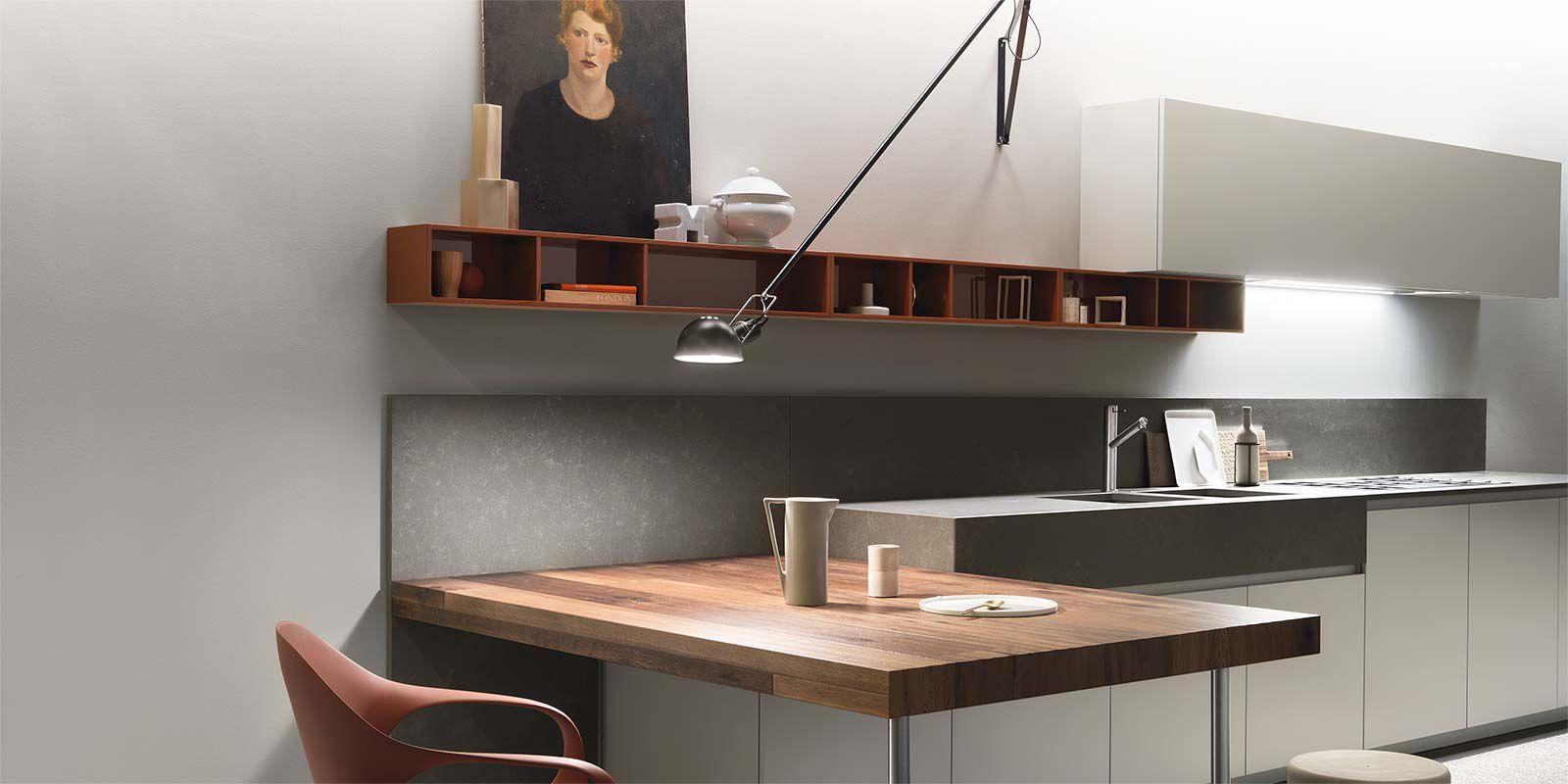 Natural stone countertop / kitchen - ONE - ERNESTOMEDA