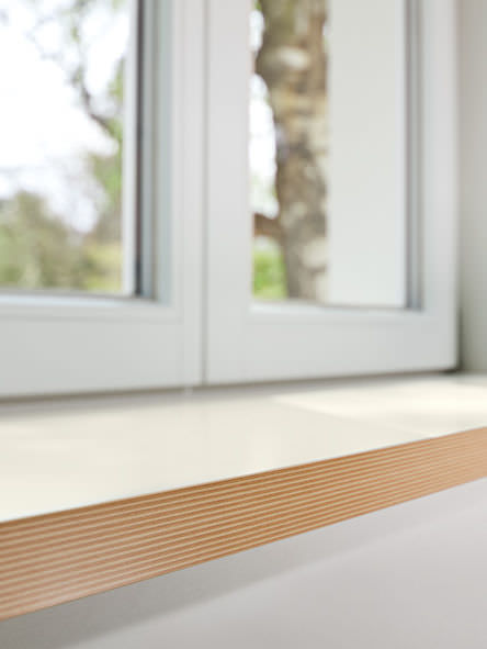Wooden Window Sill Interior