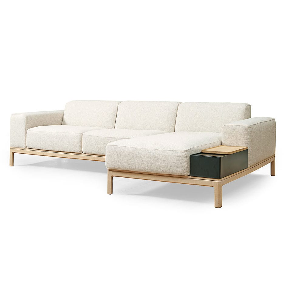 Corner sofa / bed / contemporary / wood - LAGOON : EJ 500 by ...
