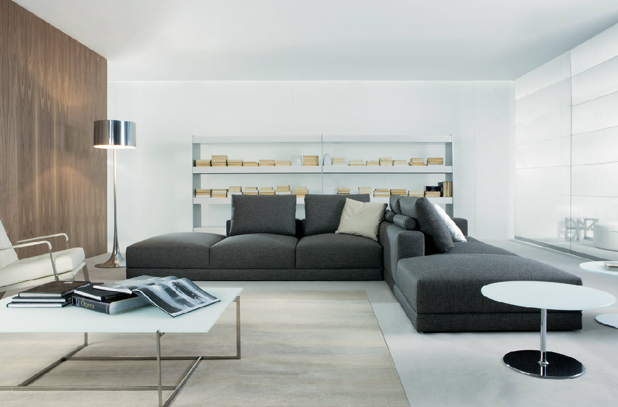 Modular sofa / contemporary / fabric / 4-seater - MASTER by ...