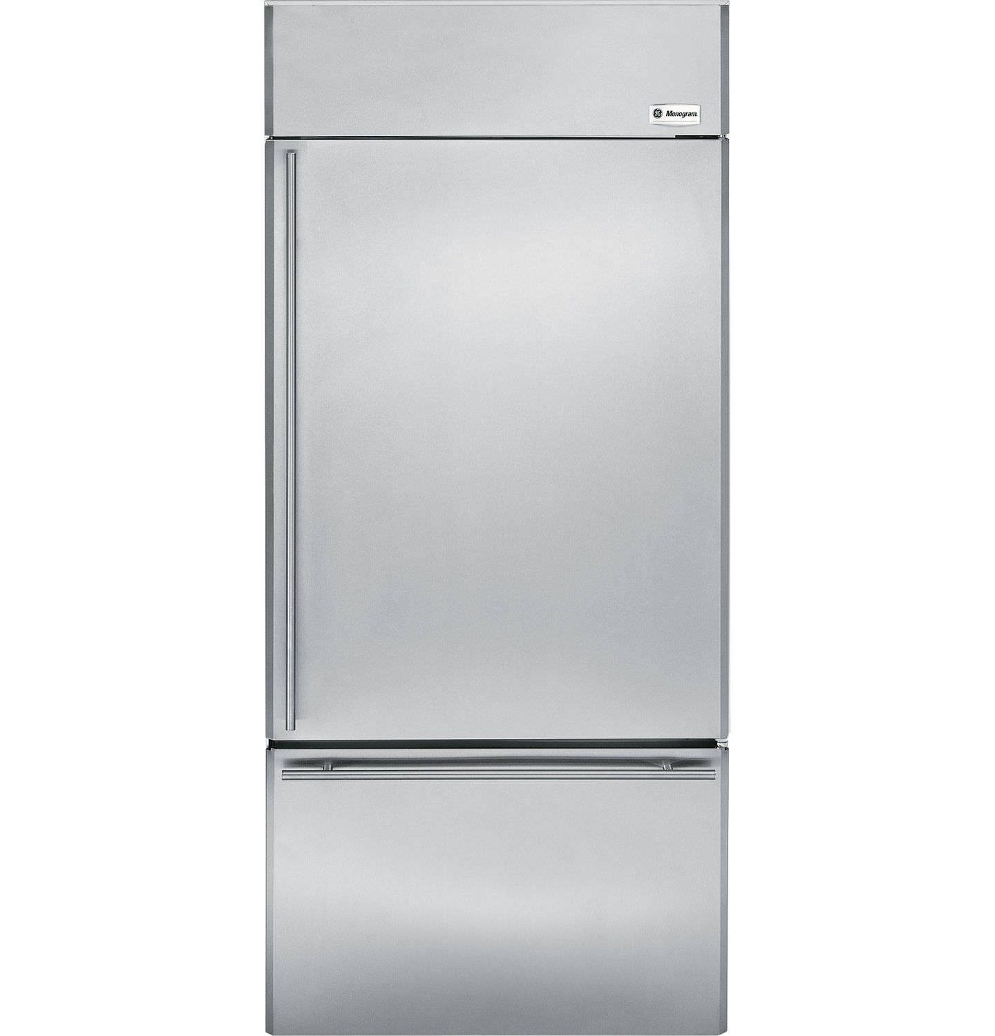Home Refrigerator Freezer Upright Stainless Steel Energy Efficient Zics360nxrh