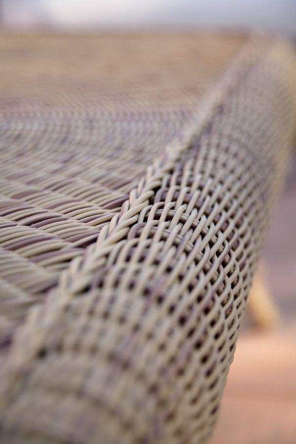 traditional sofa / garden / acrylic fabric / synthetic fiber
