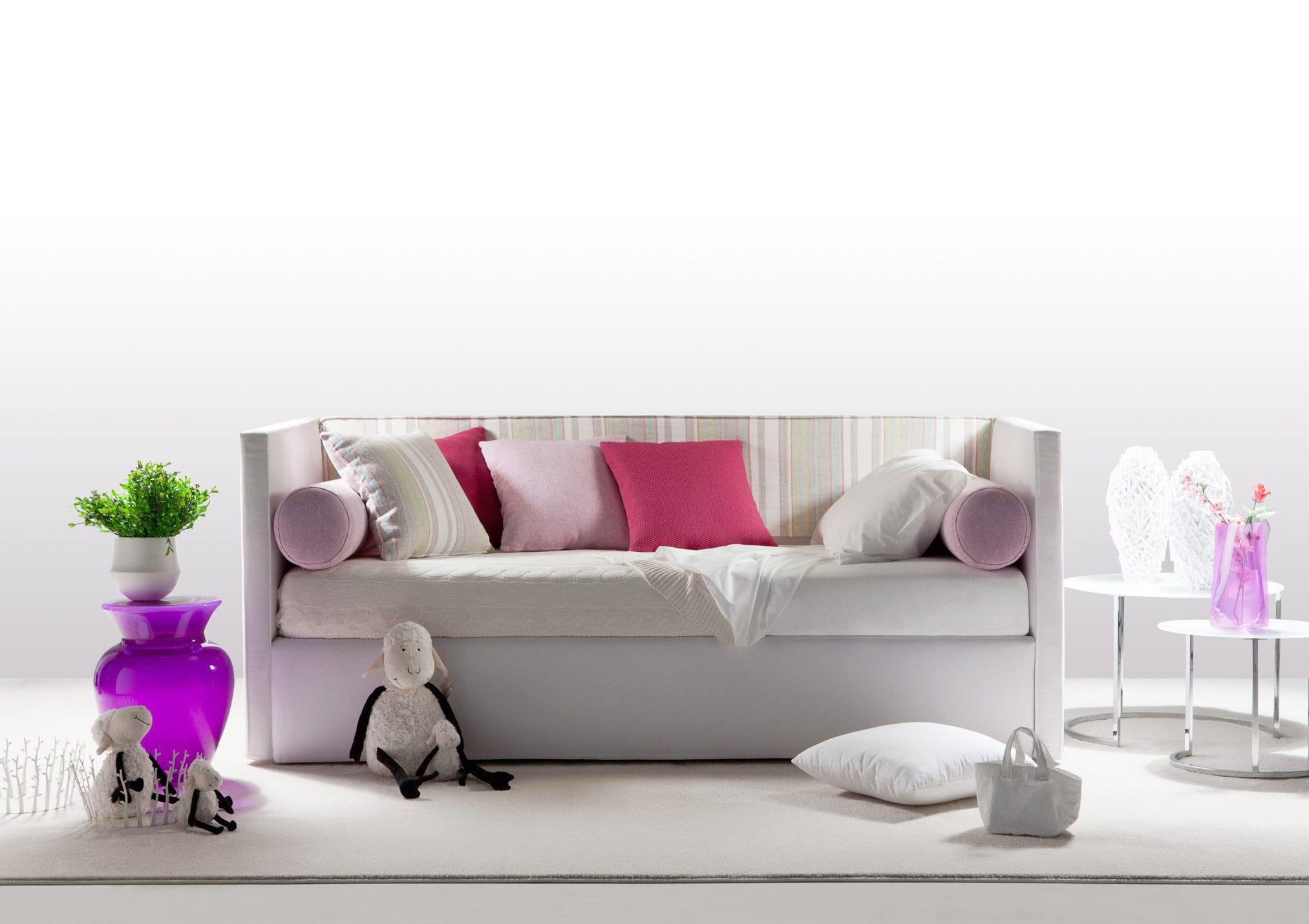 Picture of: Sofa Bed Summer E Berto Salotti Contemporary Leather Fabric