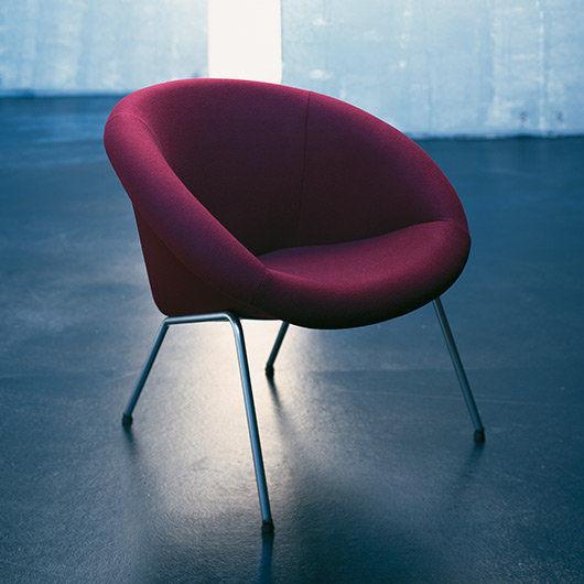 Walter Knoll Design Fauteuil.Contemporary Armchair Fabric 369 Walter Knoll