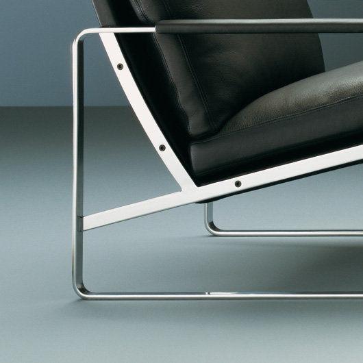 Walter Knoll Design Fauteuil.Scandinavian Design Armchair Fabricius Walter Knoll Metal