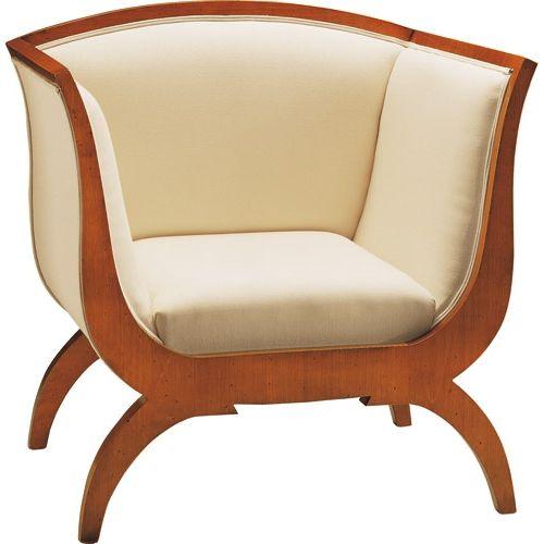 Biedermeier style armchair - ART 3873 - MORELATO - fabric ...