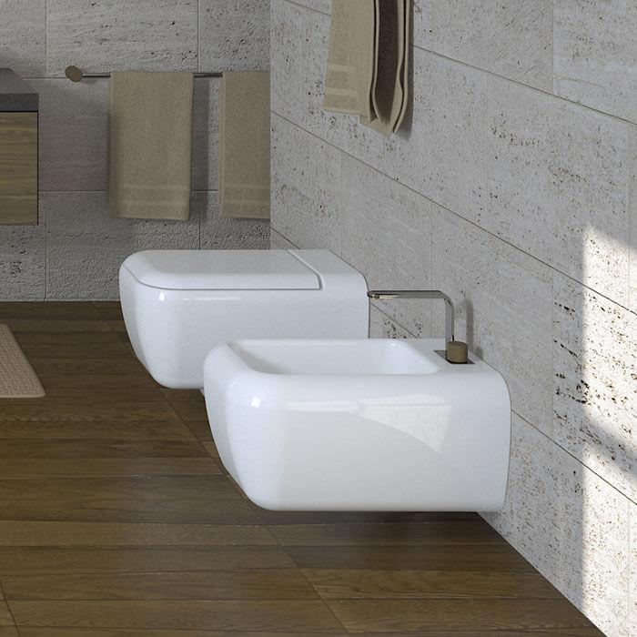 Ceramica Cielo Shui.Wall Hung Toilet Ceramic Shui Big By Paolo D Arrigo