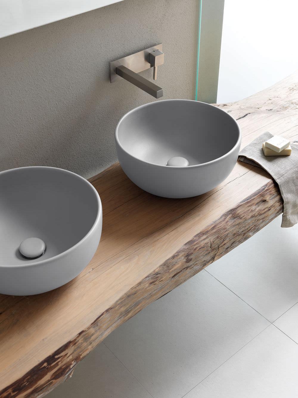 Ceramica Cielo Shui.Countertop Washbasin Round Ceramic Contemporary Shui