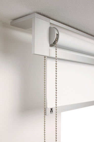 Roller Blinds Canvas Blackout Chain Operated Frame Line