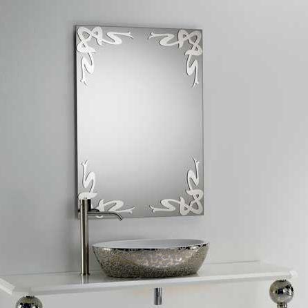 Wall Mounted Bathroom Mirror Deco A