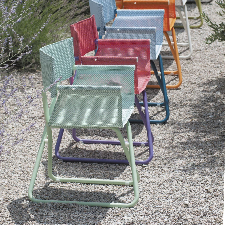 Poltrona Snooze Emu.Contemporary Garden Chair Folding Director S Steel