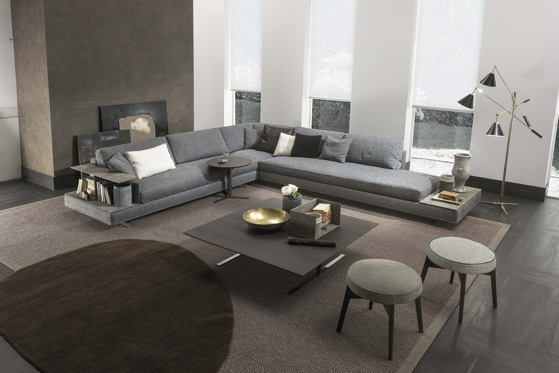 Marvelous Modular Sofa Contemporary Fabric Leather Davis Case Gmtry Best Dining Table And Chair Ideas Images Gmtryco