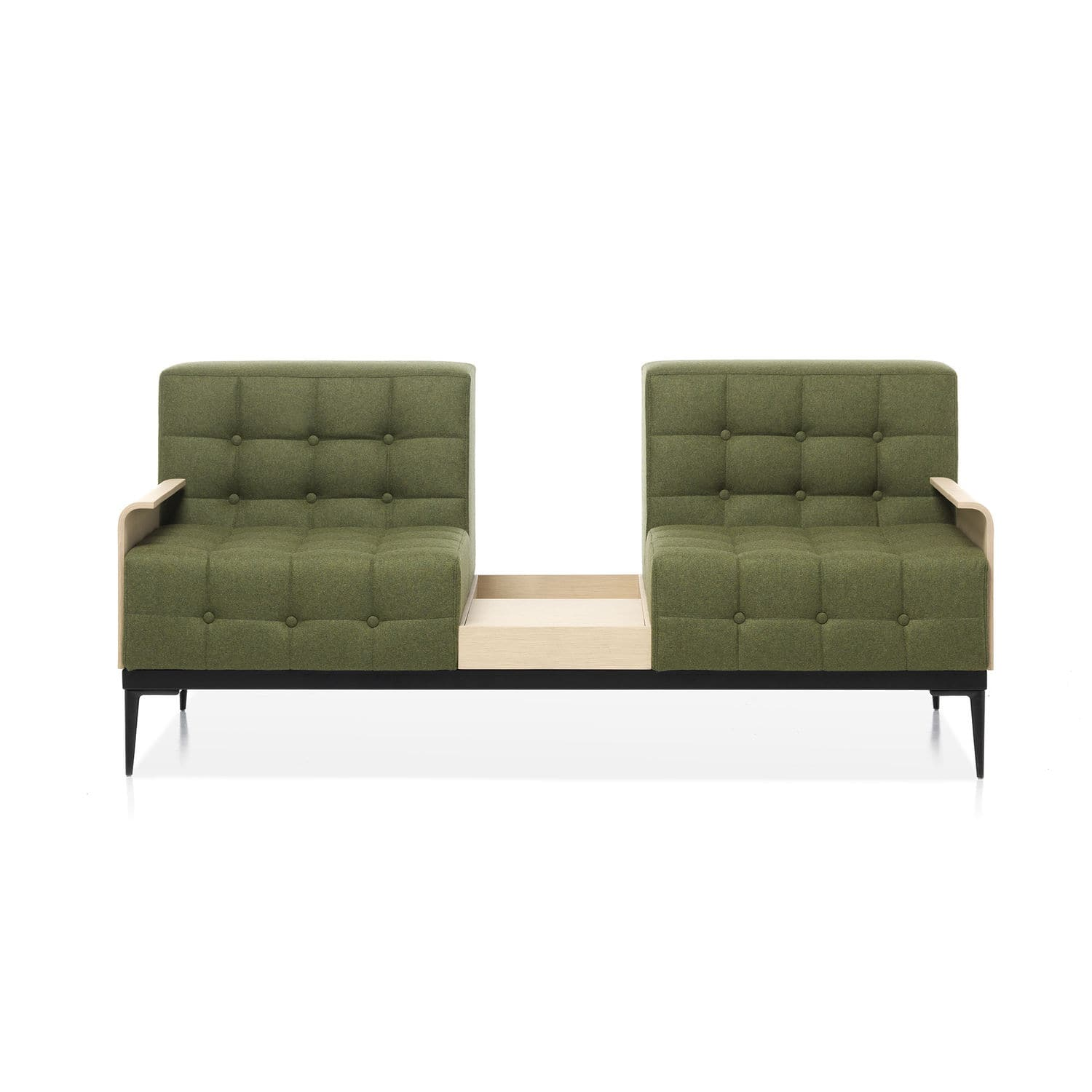 Contemporary sofa / fabric / metal / commercial - FELICITY by MM ...