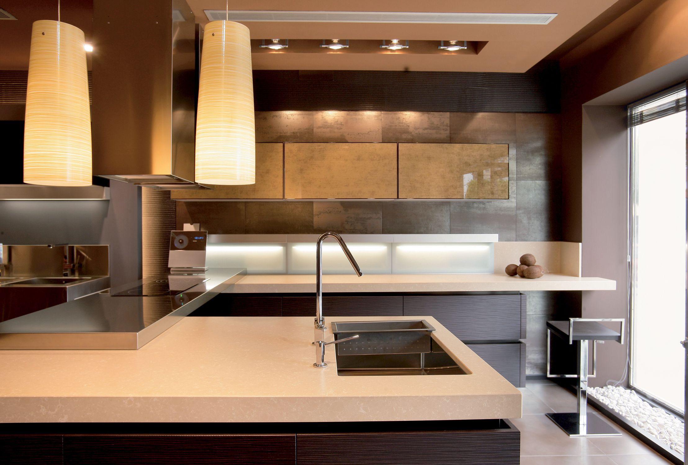 Silestone Countertop Kitchen Beige