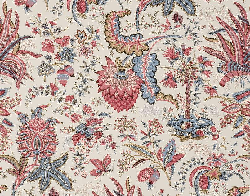 Floral Interior Fabric 6