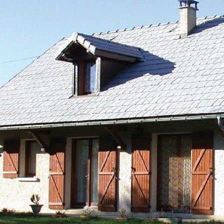 Flat Roof Tile Volnay Terreal Italia S R L Clay Red Brown
