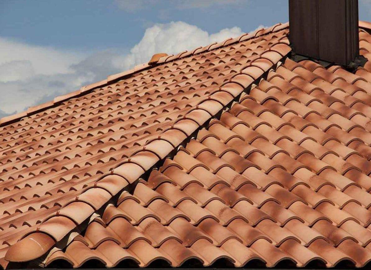 Roman Roof Tile Coppo Sanmarco Evo Terreal Italia S R L Clay Red Brown