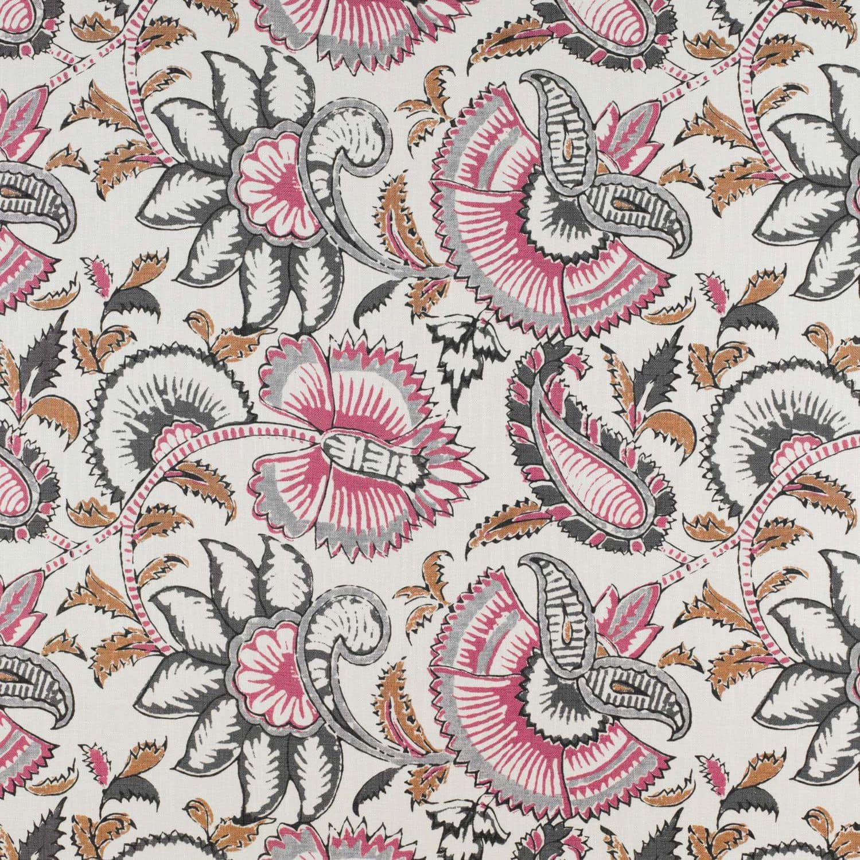 Upholstery Fabric Fl Pattern Linen Viscose