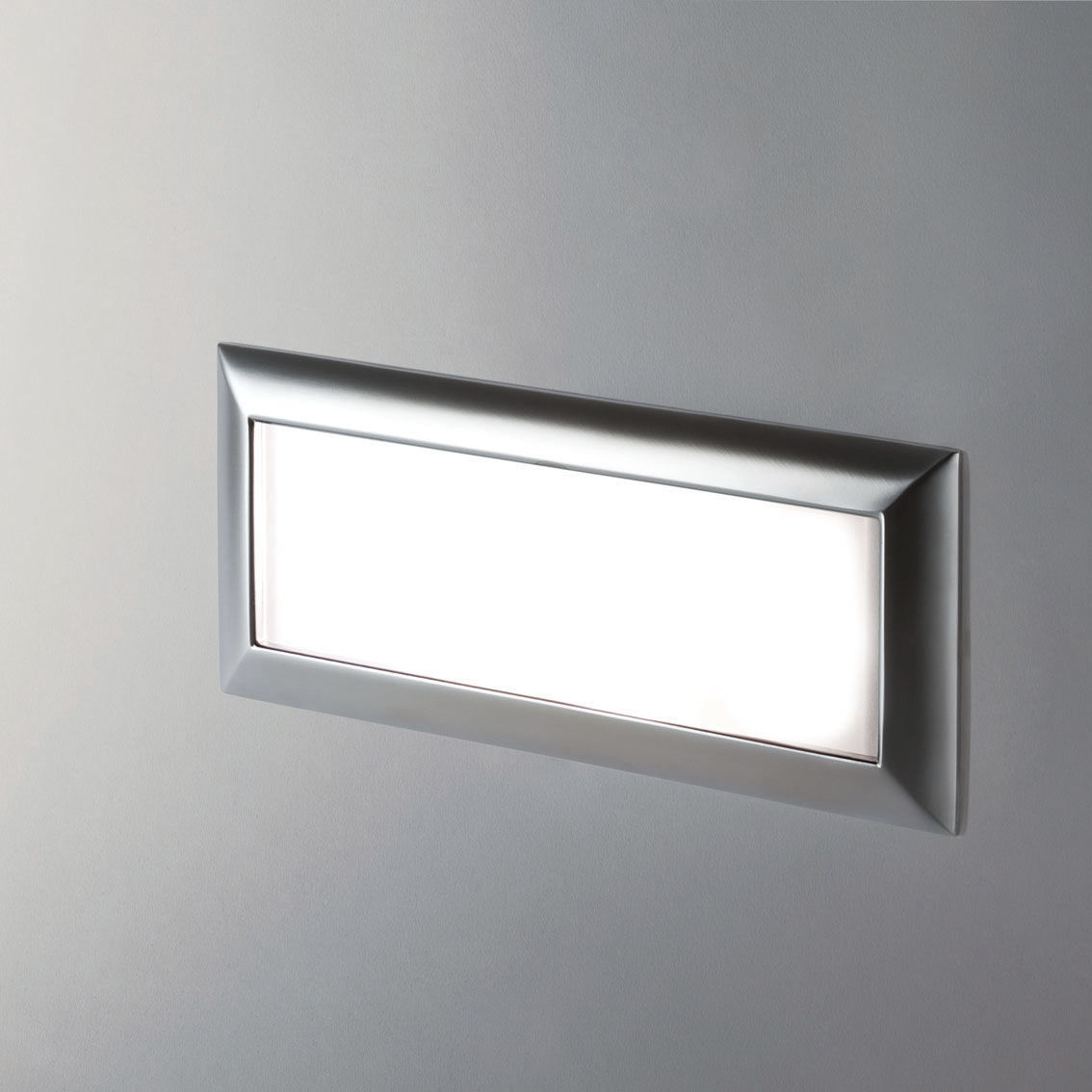 Recessed wall light fixture led cast aluminum ip40 caledos