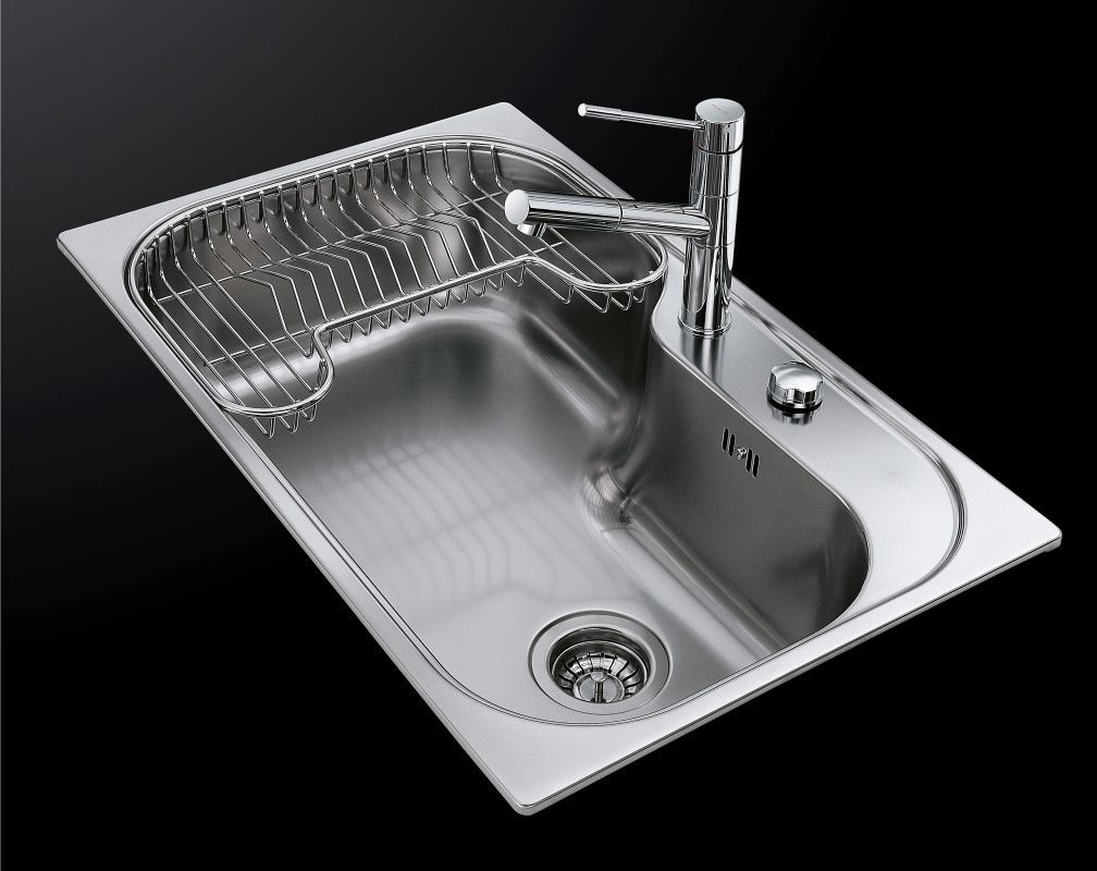Single Bowl Kitchen Sink Stainless Steel