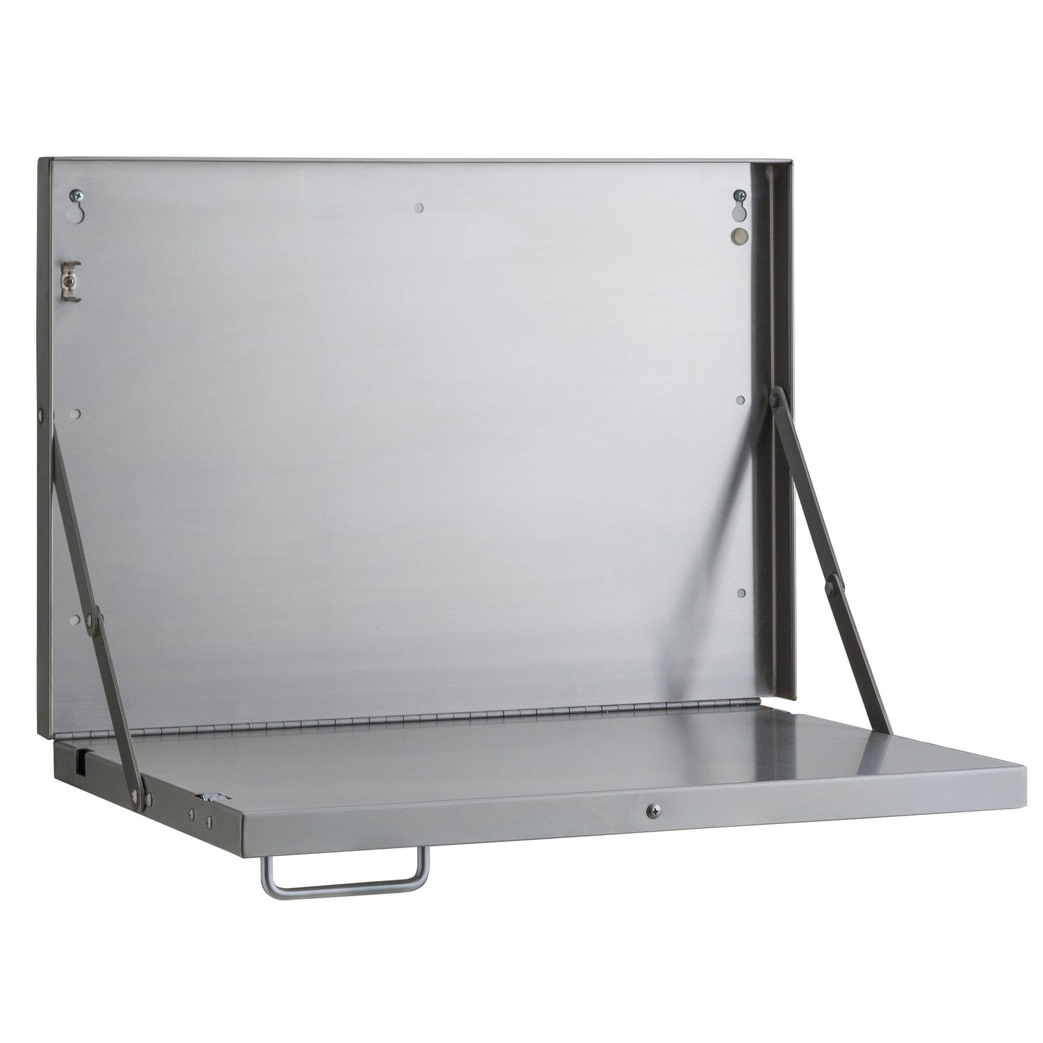 Folding Shelf Wall Mounted Industrial Design Stainless Steel