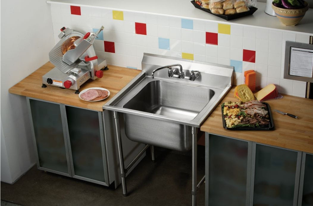 Fantastic Stainless Steel Kitchen Sink Cabinet For Commercial Download Free Architecture Designs Scobabritishbridgeorg