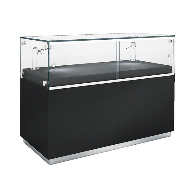 Contemporary Display Case Gl Illuminated Low Wg003 Cl