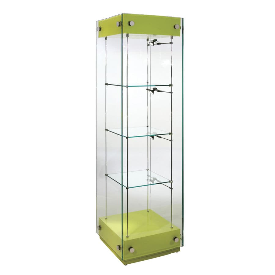 Contemporary Display Case Gl Illuminated Commercial Wg001 Cl