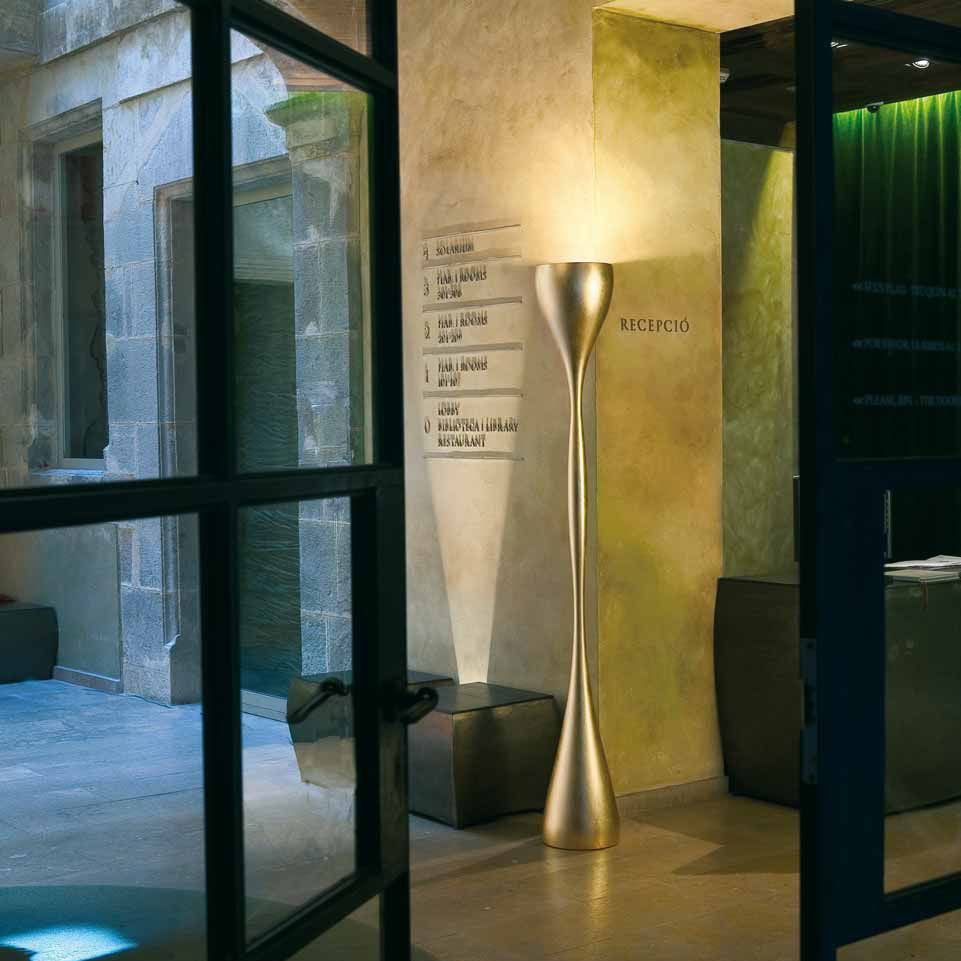 by Fortunato foam by JAZZ lamp Diego polyurethane LIGHTINGArchiExpo contemporary Floor standing VIBIA glass vP0N8nymwO