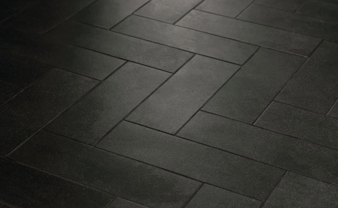 Indoor Tile Bathroom Floor Porcelain Stoneware Main Street Boutique Black