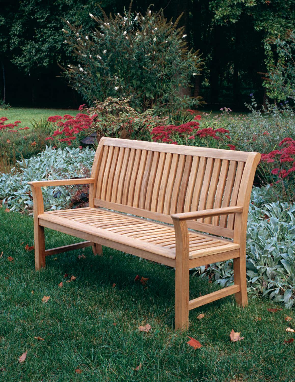Garden Bench Chelsea Kingsley Bate Traditional Wooden