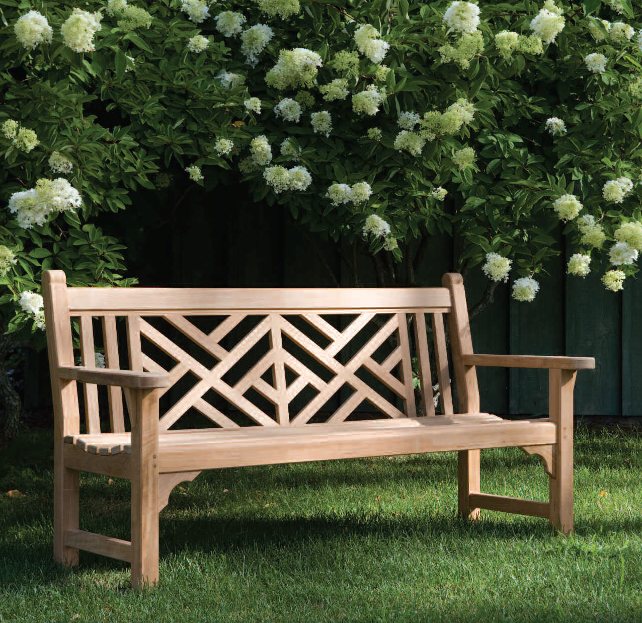 Garden Bench Chippendale Kingsley Bate Traditional Wooden With Backrest