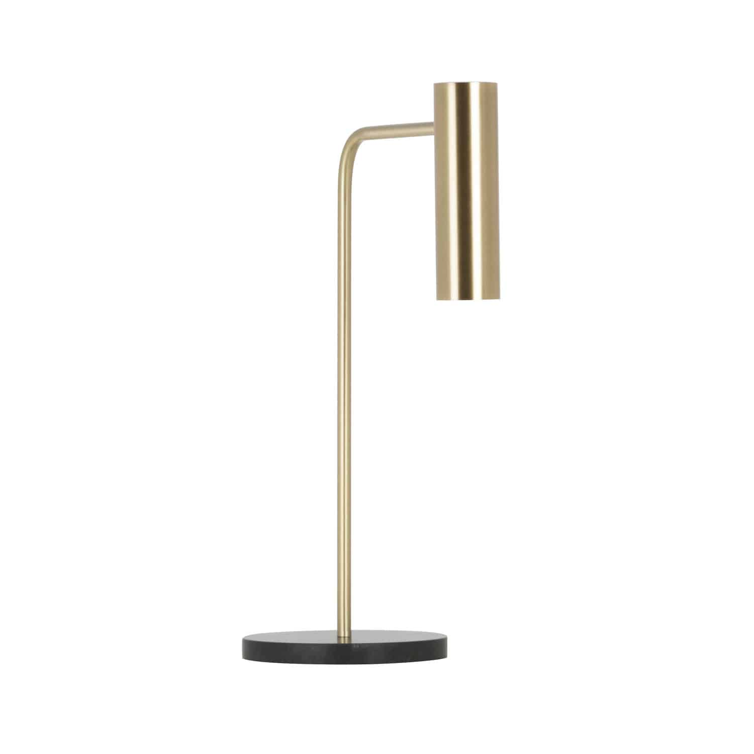 Table Lamp Gaia Sm Home Switch Home Thawaru Contemporary Brass Marble