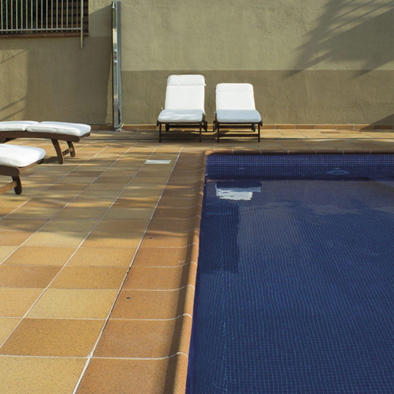 Ceramic swimming pool coping - NATURAL - MEDITERRÁNEO ...