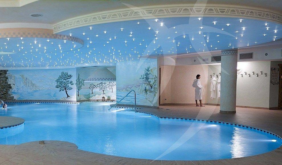 In-ground swimming pool / concrete / outdoor / indoor - HAPPY SAUNA ...