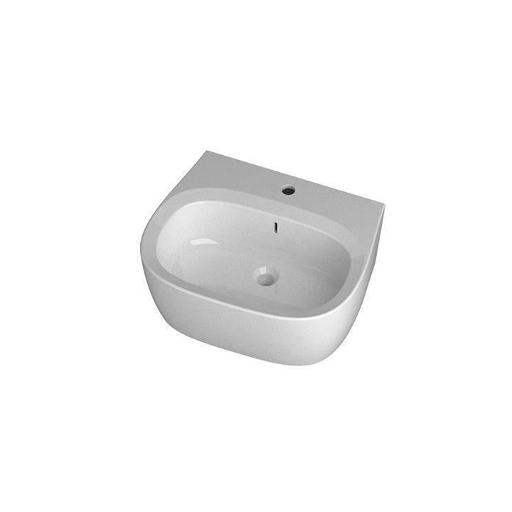 Disegno Ceramica Weg.Countertop Washbasin Oval Ceramic Contemporary Weg