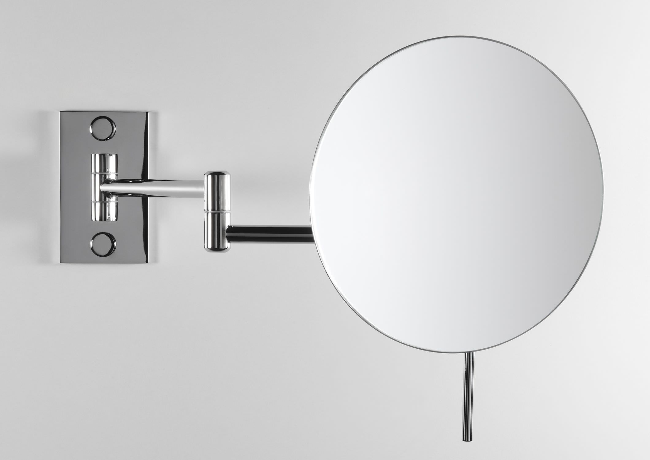 Wall Mounted Bathroom Mirror Magnifying Contemporary Round