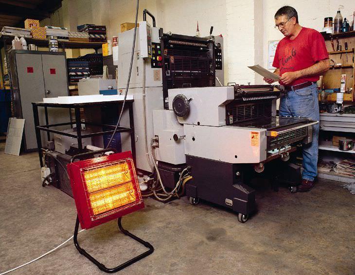 Floor Mounted Infrared Heater Beaver
