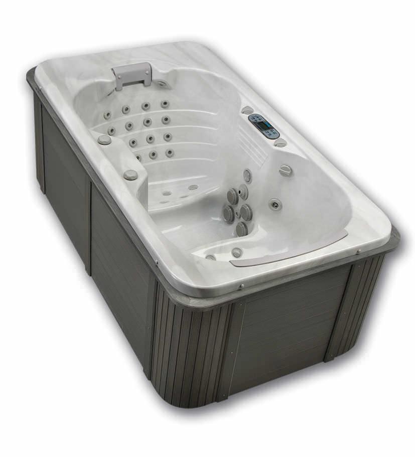 Above Ground Hot Tub Gemini Thermo Spas Rectangular 2 Person