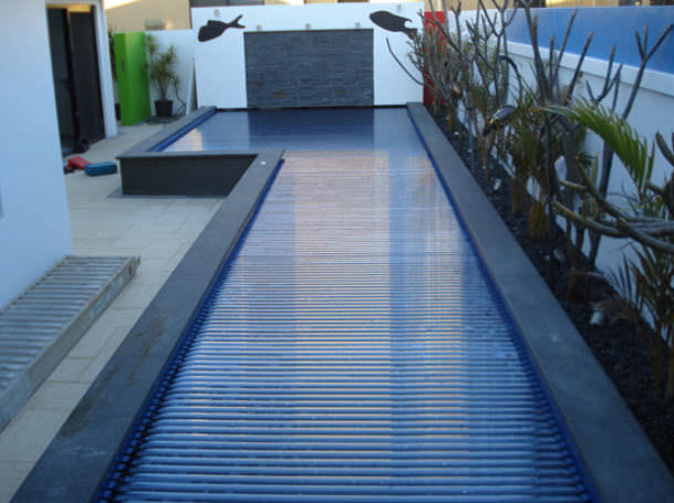 Security swimming pool cover Elite Pool Covers