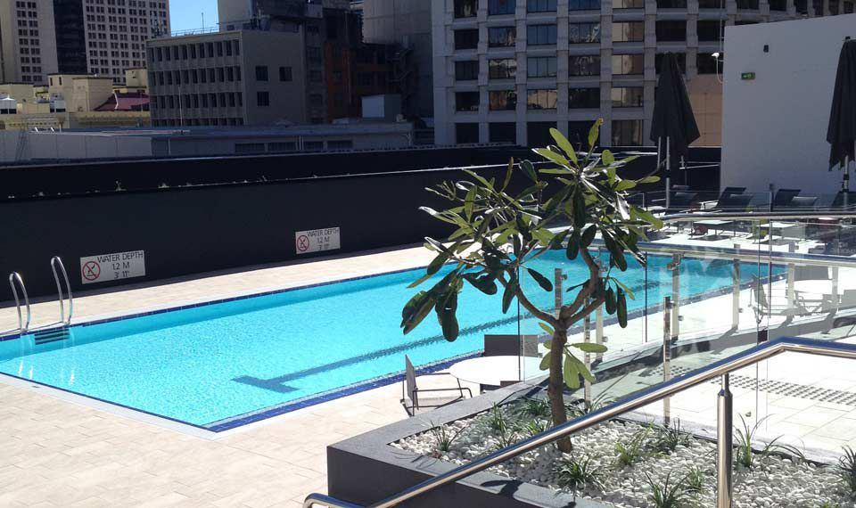 In Ground Swimming Pool Stainless Steel For Hotels Mosaic