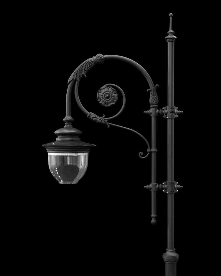 Urban Lamppost Traditional Aluminum Led Ca By
